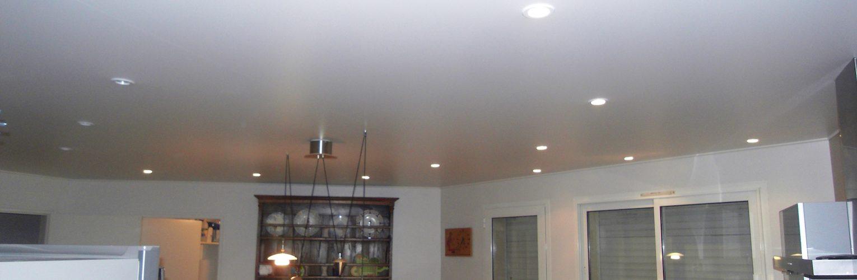 Plafonds tendus entreprise benezet trouillas for Nettoyage plafond tendu