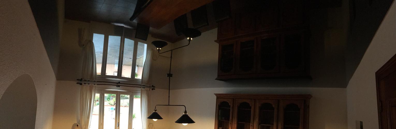 Plafonds tendus entreprise benezet trouillas for Nettoyage plafond tendu barrisol